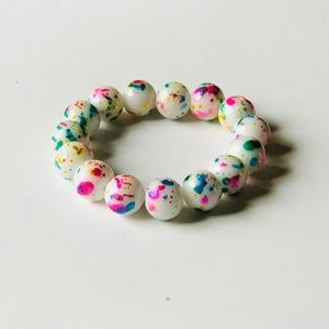 Colorful Children's Stretch Stackable Bracelet